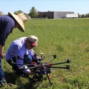 Conserto de drone