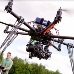 Drone para filmar imoveis