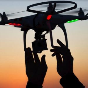 Drone para sensoriamento remoto