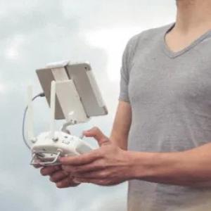 Pilotagem de drone