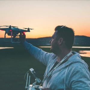 Treinamento com drone