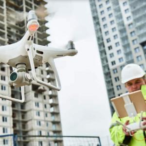 Treinamento para pilotagem de drone