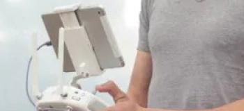 Drone de controle remoto com câmera