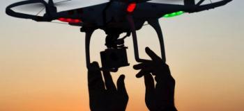 Drone para filmagem noturna