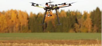 Drone para monitoramento de lavouras