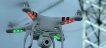 Filmagem aérea drones
