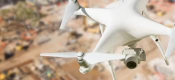 Mapeamento de area com drone