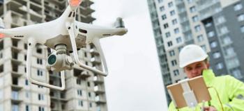 Serviço com drone
