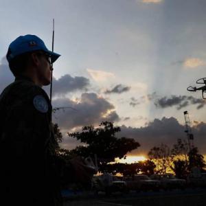 MISSÕES DE PAZ NO HAITI. COMO O EXÉRCITO ESTÁ UTILIZANDO SEUS DRONES